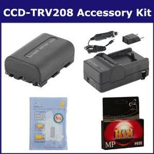 Sony CCD TRV208 Camcorder Accessory Kit includes HI8TAPE Tape