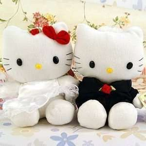 Hello Kitty Stuffed Animal Plush Toy Marry Wedding Gift