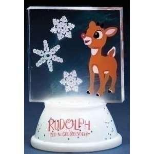 LED LIghted Tri Color B/O Rudolph Christmas Decor