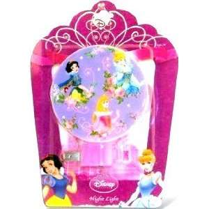 Night Light Pink Cinderella, Belle, Snow White (A)