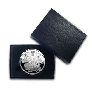 oz Twin Baby Silver Round (w/Gift Box & Capsule)