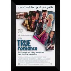 True Romance 27x40 FRAMED Movie Poster   Style A   1993