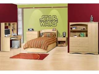 STAR WARS Wall Decal Decor Vinyl Boys Kids Garage Room Lettering Words