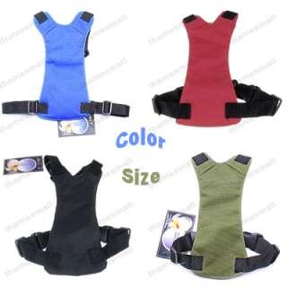 Color 3 Size Car Vehicle Dog Seat Safety Belt Harness