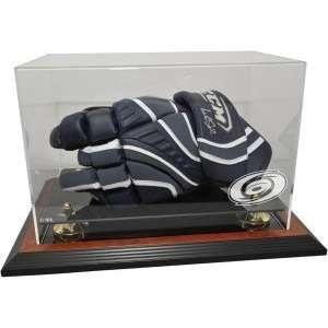 Hockey Player Glove Display Case, Brown   Carolina Hurricanes   NHL