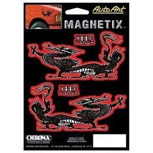 Chroma Graphics 9016 Decal Auto Art Magn Dragn: Automotive
