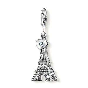 Thomas Sabo Eiffel Tower Charm, Sterling Silver Thomas Sabo Jewelry