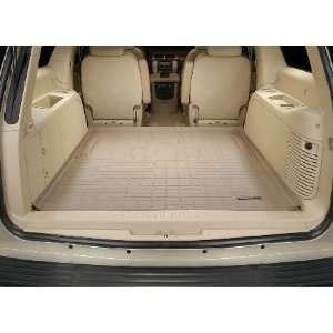 2007 2011 Cadillac Escalade ESV Weathertech Cargo Liner (Tan) [Behind