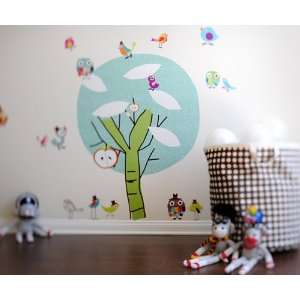 and Lolli Where the Wild Things Grow Chirpie Tree Wall Stickers Baby