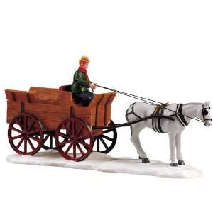 Lemax Christmas Village Collection Buckboard Wagon Table