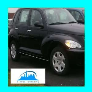 2000 2005 CHRYSLER PT CRUISER CHROME ROCKER TRIM MOLDINGS