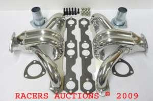 SBC Small Block Chevy Hugger Headers Ceramic Coated GM
