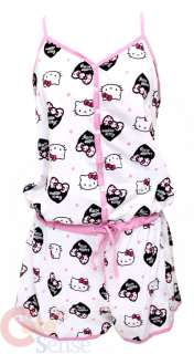 Sanrio Hello kitty Sleepwear PJ Hole In One w/Pants WH