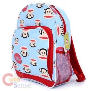 Frank School Backpack 16 Large Bag  Face Red Blue Licensed