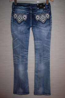 Miss Me Aztec Boot Cut Sizes 25 31 Womens Jeans
