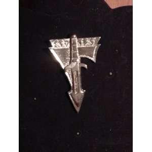Star Trek Klingon Silver Knife Pin