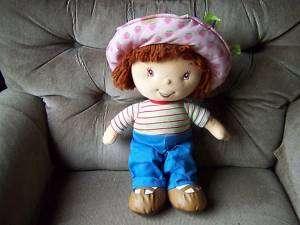16 Ban Dai Talking Singing Strawberry Shortcake Doll 2003 Vgc