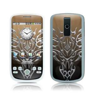 Tribal Dragon Chrome Protective Skin Decal Sticker for HTC
