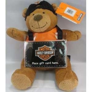 Harley Davidson Gift Card Teddy Bear Holder Toys & Games