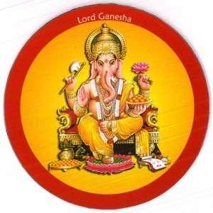 FRIDGE MAGNET ~ Hindu elephant God Lord Ganesha Ganesh