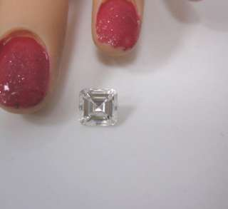 GIA CERTIFIED 2 CARAT G VS1 ASSCHER SQUARE EMERALD CUT DIAMOND IDEAL