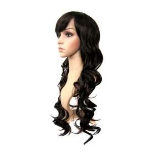 Long straight Dark Brown Hair Wig  Bedhead: Beauty