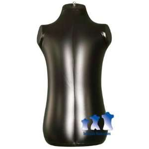 Inflatable Mannequin, Toddler Torso, Black