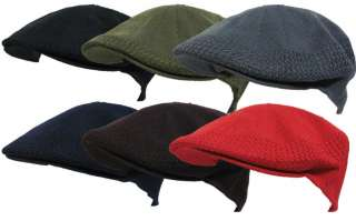 NEW SUMMER GOLF IVY VENT AIR MESH CAP IVY NEWSBOY HAT