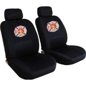 Firefighters Maltese Cross Fire Department Custom Embroidered Logo