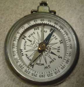 WORLD WAR I ? VINTAGE TAYLOR U.S.A. GYDAWL COMPASS