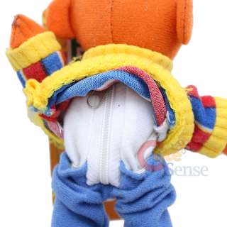 Sesame Street Ernie Plush Key chain w/Coin Pocket 7
