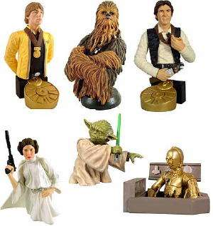 GENTLE GIANT STAR WARS BUST UPS SERIES 1 SEALED CASE 24