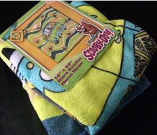 SCOOBY DOO SNACK MYSTERY MACHINE VAN THROW BED BLANKLET