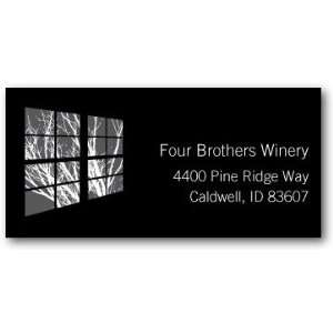 Business Holiday Address Labels   Office Window By