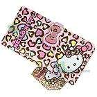 Lovely hello kitty semicircle pink wallet