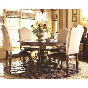 Universal Furniture 5pc Dining Set w/Upholstered Chairs