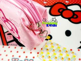 HELLO KITTY COSMETIC MAKE UP CASE HAND BAG PINK