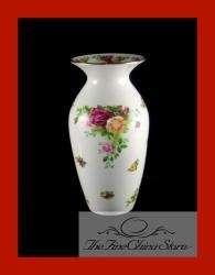 Royal Albert Old Country Roses Flower Arrangement Vase Brand New