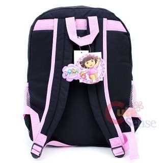 Dora & Boots School Backpack BagBlack Crayon Large16