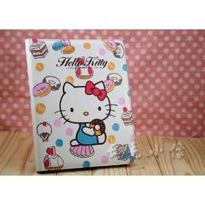 com Cute Hello Kitty Leather Case Stand for Apple iPad2 Cookie Kitty