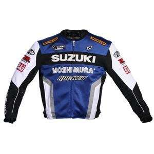 Joe Rocket Suzuki Mesh Replica Jacket   2X Large/Blue/White/Black
