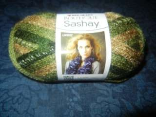Red Heart Boutique Sashay Fishnet Weave Yarn 1 Skein Conga