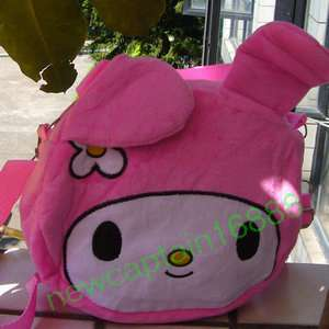 NEW CUTE BABY TODDLER My Melody STYLISH GIRLS PLUSH HANDBAG PURSE BEST