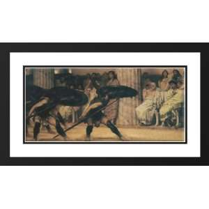 40x24 Framed and Double Matted A Pyrrhic Dance: Sports & Outdoors