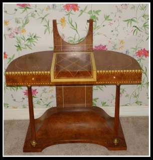 Unusual Ruhlmann Style Art Deco Dressing Table Vanity Desk NR