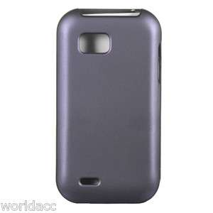 PHONE) C800 Crystal 4G Hard Case Cover Purple Rubberized Lux