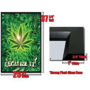 Framed Legalize It Poster Marijuana Pot Weed Fr1597: Home
