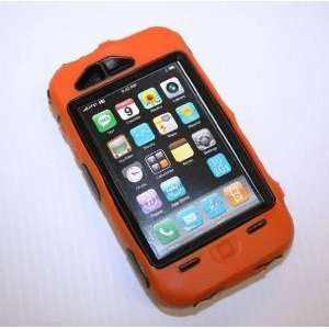 iPhone 3G 3GS Generic Otterbox Defender Case Orange & Black USA Seller