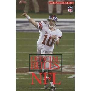 Rules of the National Football League [OFF PLAYING RULES OF NFL