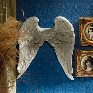26.5 Victorian Sculpture Art On Angel Wings Wall Sculpture Statue